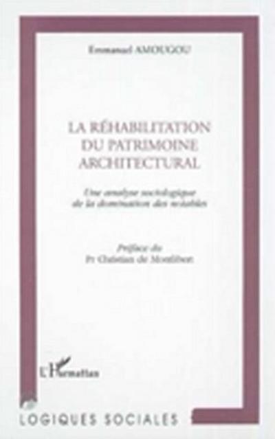 Rehabilitation du patrimoine architectur