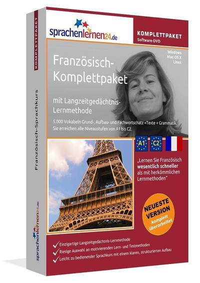Sprachenlernen24.de Französisch-Komplettpaket (Sprachkurs)