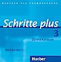 Schritte plus 3. 2 Audio-CDs zum Kursbuch