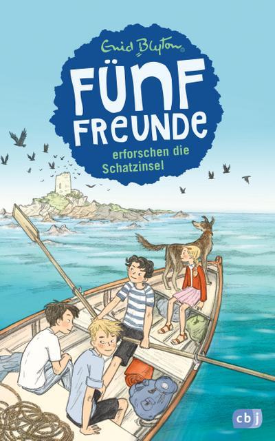 Fünf Freunde erforschen die Schatzinsel; Band 1; Einzelbände; Deutsch; Mit s/w Illustrationen