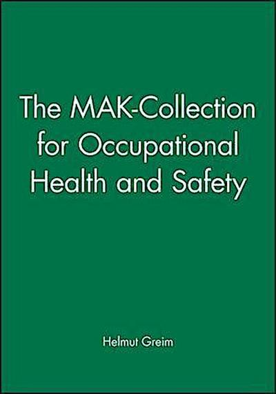 The MAK-Collection for Occupational Health and Safety 1