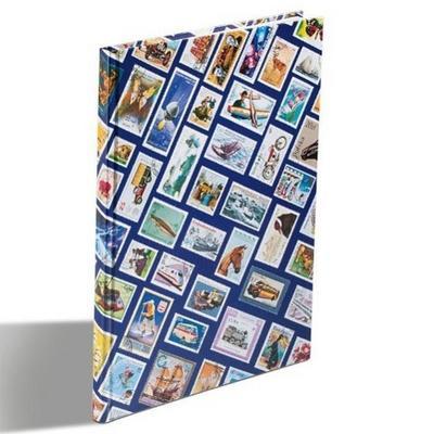 Einsteckbuch HOBBY DIN A4, 16 weiße Seiten, blau