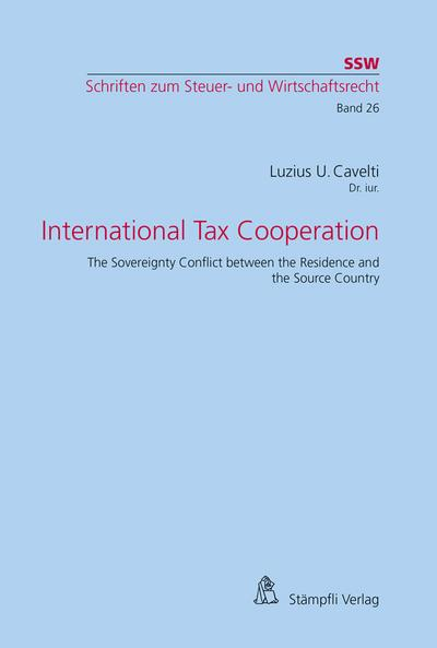 International Tax Cooperation