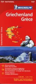 Michelin Nationalkarte Griechenland 1 : 700 0 ...