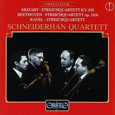 Streichquartette Kv 458/Op.18,6/Streichquartett