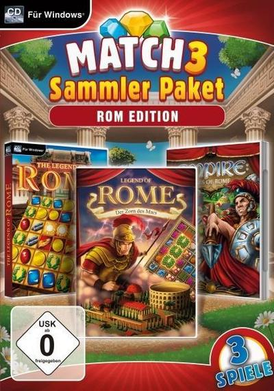 Match 3 Sammlerpaket - Rom Edition. Für Windows 7/8/10