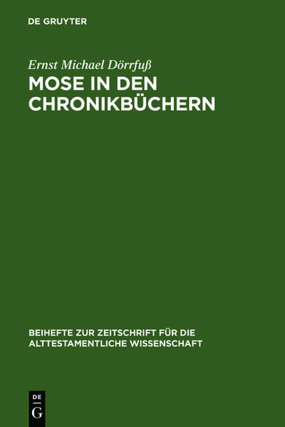 Mose in den Chronikbüchern