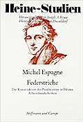 Federstriche; Die Konstruktion des Pantheismu ...