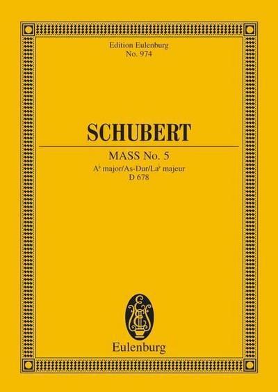 Messe Nr. 5 As-Dur