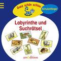 Labyrinthe und Suchrätsel   ; Ganz schön schl ...