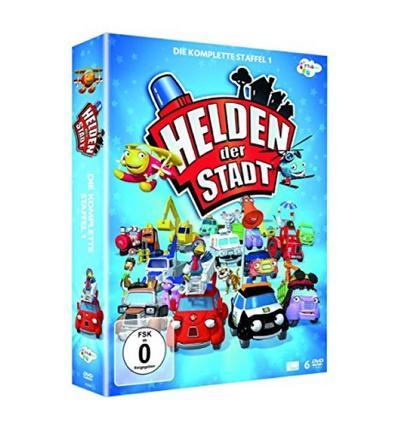 Helden der Stadt - Die komplette Staffel 1 [6 DVDs] - Rough Trade Distribution Gmbh - DVD, Deutsch, , ,