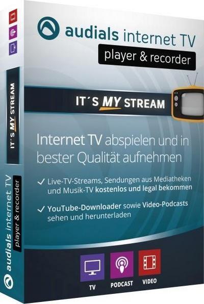 Audials Internet TV. Für Windows 7/8/10