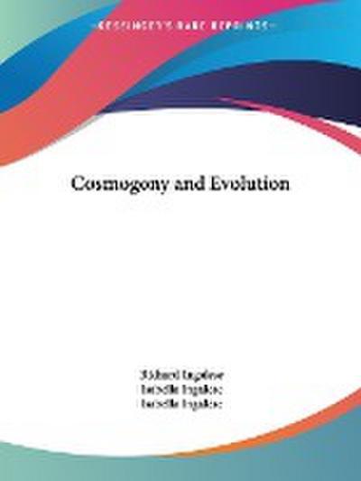 Cosmogony and Evolution