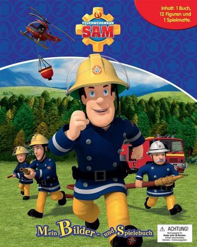 Feuerwehrmann Sam. Spiel- u. Beschäftigungsbuch