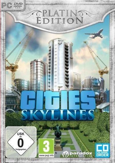 Cities: Skylines Platin Edition. Für Windows Vista/7/8/10/MAC/Linux (64-Bit)
