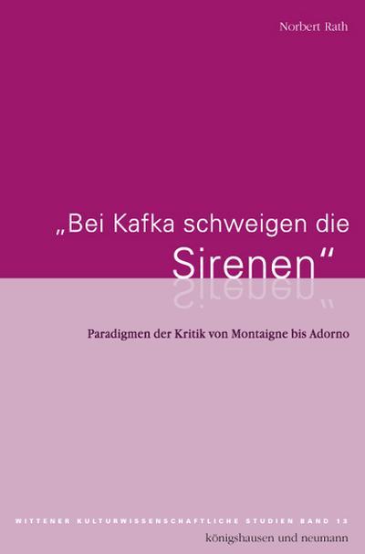 Bei Kafka schweigen die Sirenen