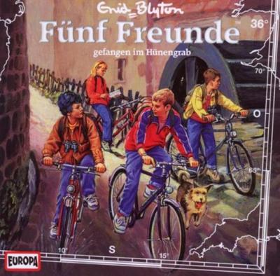 Fünf Freunde 036: ... gefangen im Hünengrab