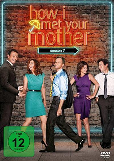 How I Met Your Mother. Season.7, 3 DVDs