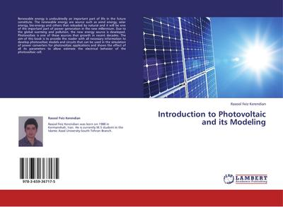 Introduction to Photovoltaic and its Modeling