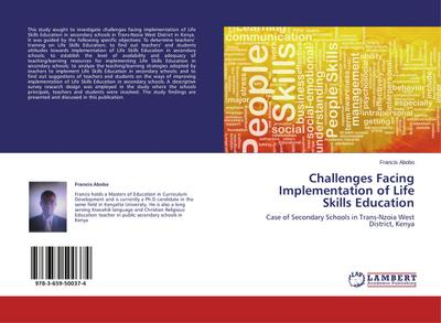 Challenges Facing Implementation of Life Skills Education