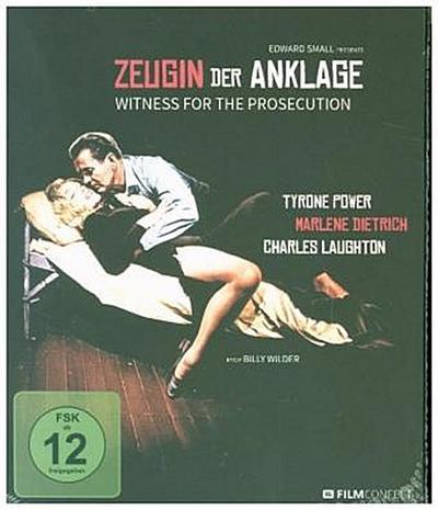 Zeugin der Anklage, 1 Blu-ray (Digipack)