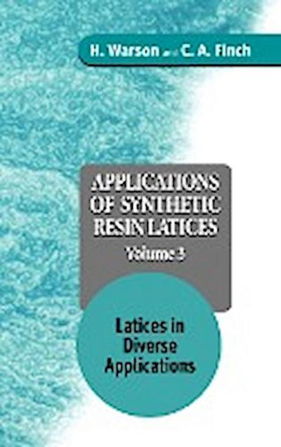 App of Synthetic Resin Latices V 3
