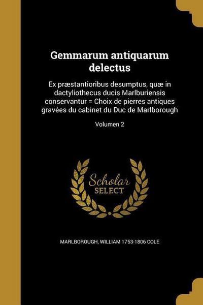 LAT-GEMMARUM ANTIQUARUM DELECT