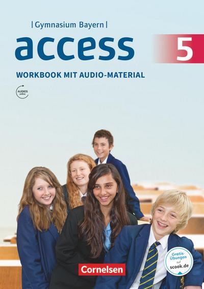 Access - Bayern 5. Jahrgangsstufe - Workbook mit Audios online und MyBook