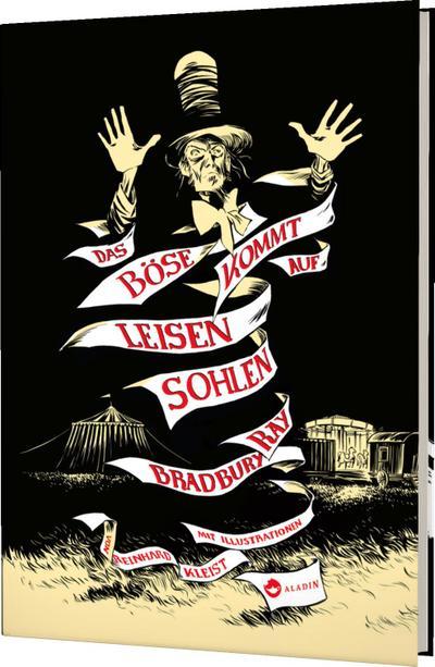 Das Böse kommt auf leisen Sohlen; Ill. v. Kleist, Reinhard; Übers. v. Wölfl, Norbert; Deutsch; mit vielen schwarz-weiß Illustrationen