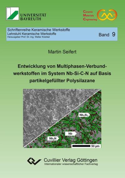 Entwicklung von Multiphasen-Verbundwerkstoffen im System Nb-Si-C-N auf Basis partikelgefüllter Polysilazane