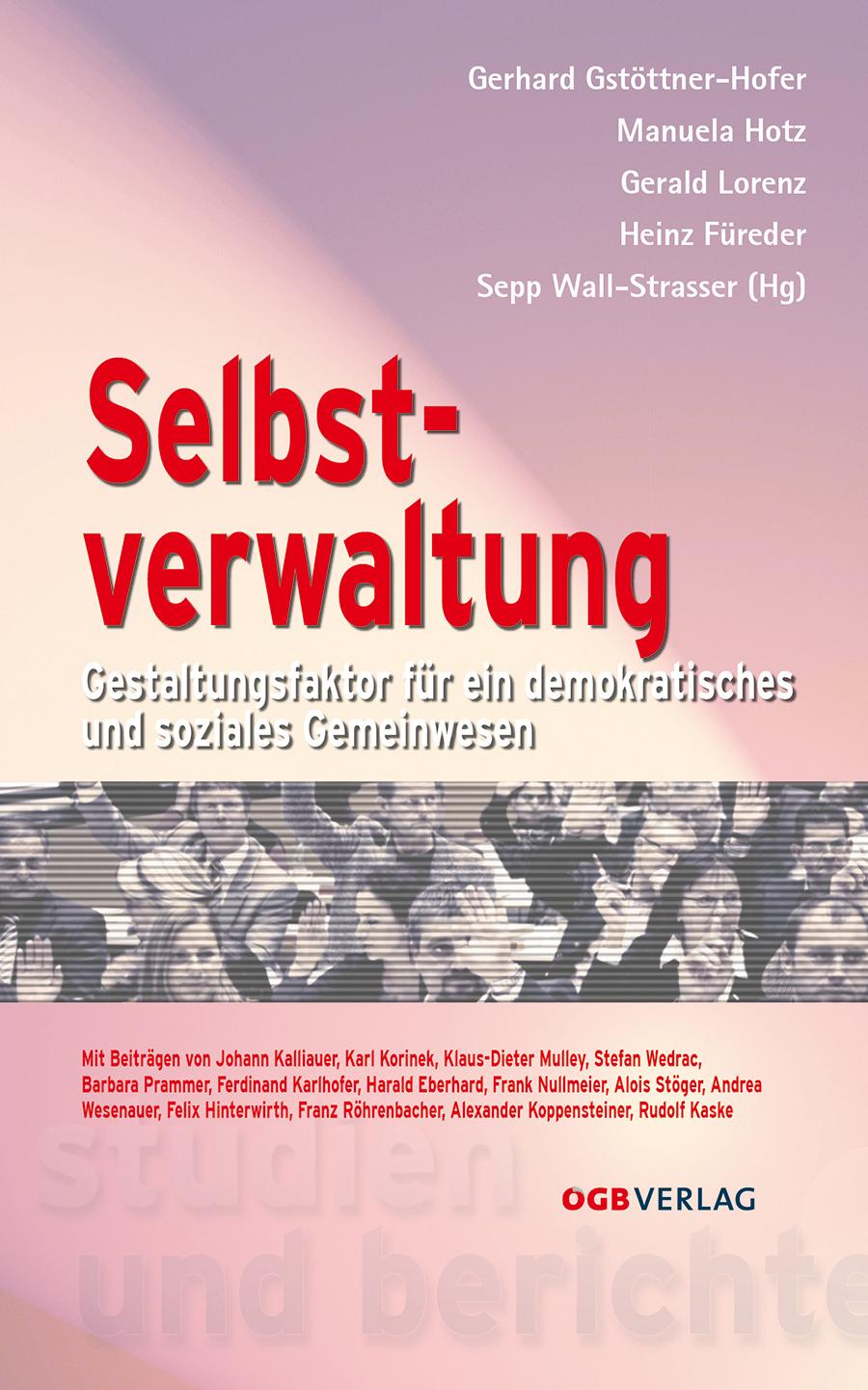 Selbstverwaltung Gerhard Gstöttner-Hofer
