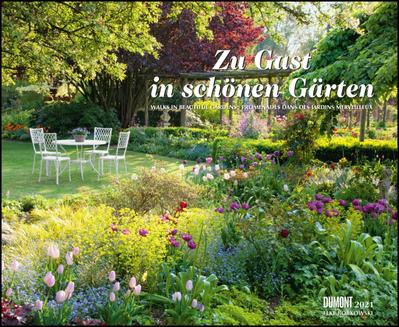 Zu Gast in schönen Gärten 2021 - DUMONT Garten-Kalender - Querformat 52 x 42,5 cm - Spiralbindung