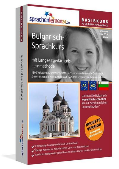 Sprachenlernen24.de Bulgarisch-Basis-Sprachkurs