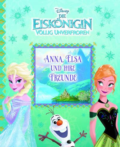 Die Eiskönigin - Anna, Elsa und ihre Freunde, Vorlese-Pappbilderbuch
