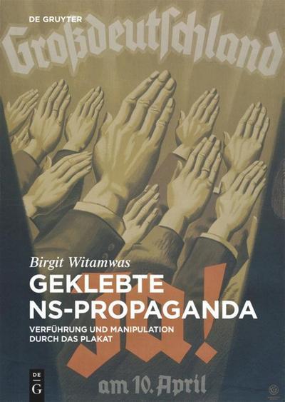 Geklebte NS-Propaganda