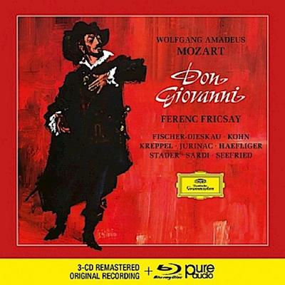 Don Giovanni, 3 Audio-CDs + 1 Blu-ray-Audio