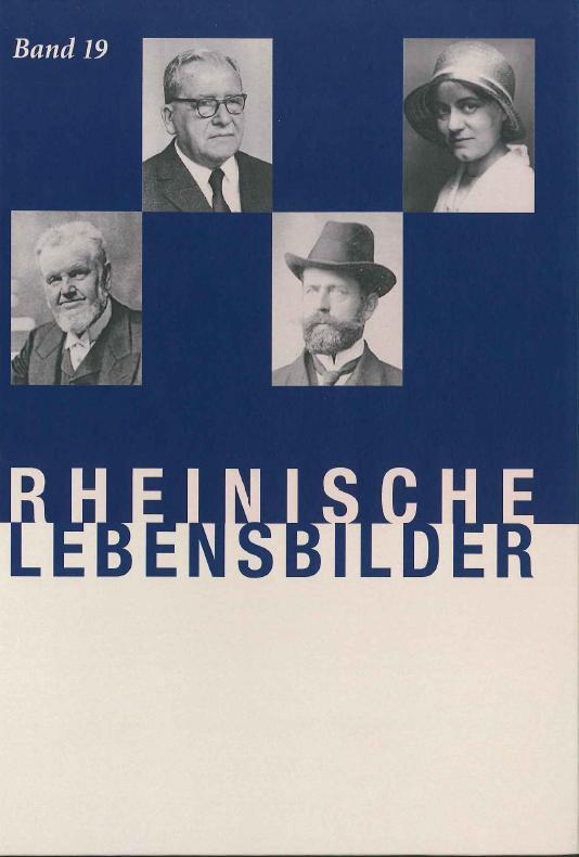 Rheinische Lebensbilder, Band 19 Elsbeth Andre