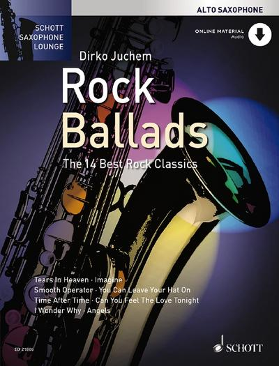 Rock Ballads, Alt-Saxophon, m. Audio-CD