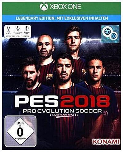 PES 2018 - Legendary Edition - [Xbox One] - Konami - Videospiel, Deutsch, , Mit exklusiven Inhalten, Mit exklusiven Inhalten