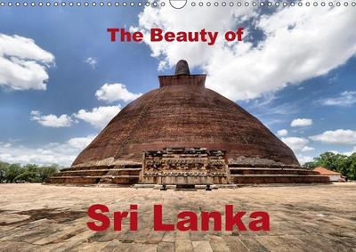 The Beauty of Sri Lanka (Wall Calendar 2019 DIN A3 Landscape)