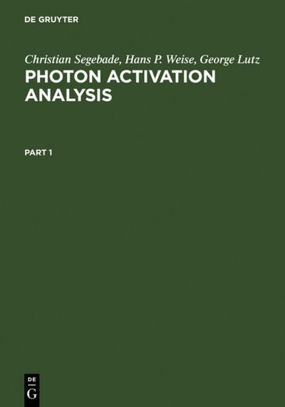 Photon Activation Analysis