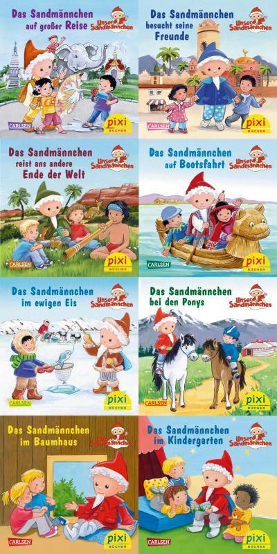 Pixi-Serie 265: Das Sandmännchen unterwegs (8x8 Exemplare)