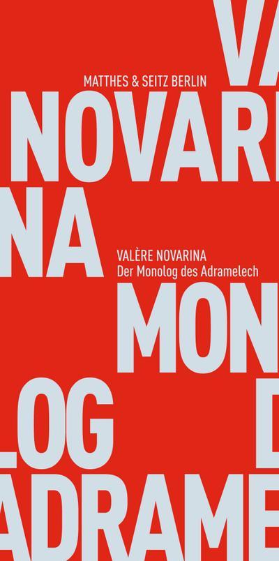 Der Monolog des Adramelech   ; Kleine Reihe ; Aus d. Franz. v. Verschuer, Leopold von; Deutsch