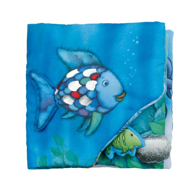 NEU Mein Regenbogenfisch Stoffbuch Marcus Pfister 017636