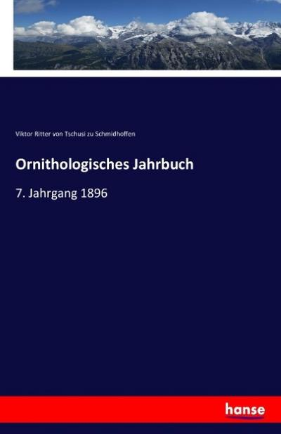 Ornithologisches Jahrbuch