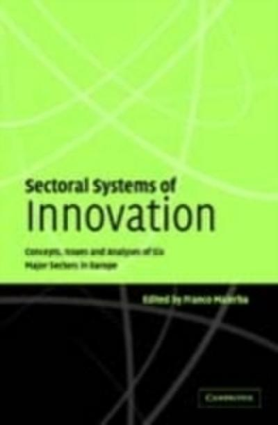 Sectoral Systems of Innovation