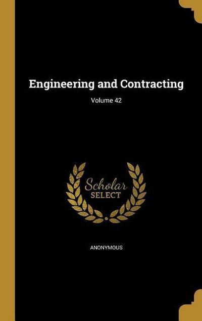 ENGINEERING & CONTRACTING VOLU