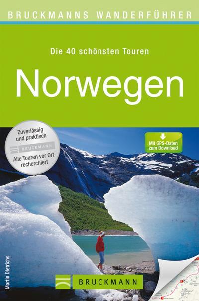 Norwegen   ; Bruckmanns Wanderführer ; Deutsch;
