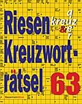 Riesen-Kreuzworträtsel 63