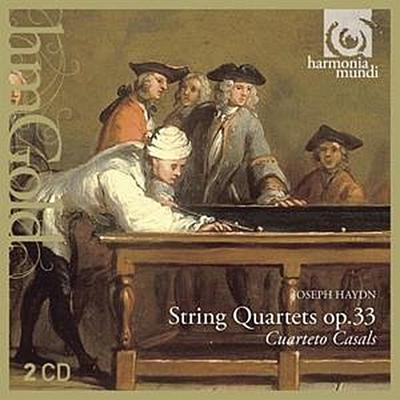 Quatuors A Cordes op.33